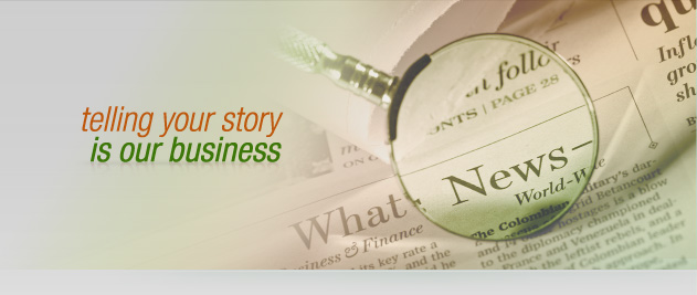 MCB Communications, telling your story is our business